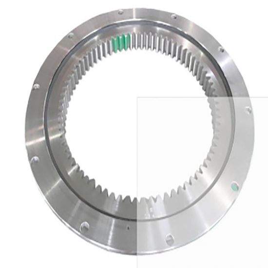 large size thin section slewing ring